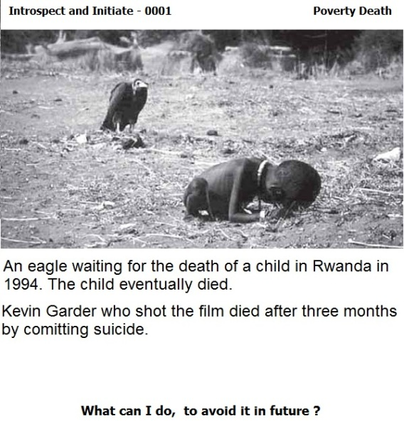 Poverty Death - An African Child